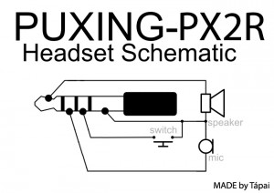 puxing_px2r_headset_schematic