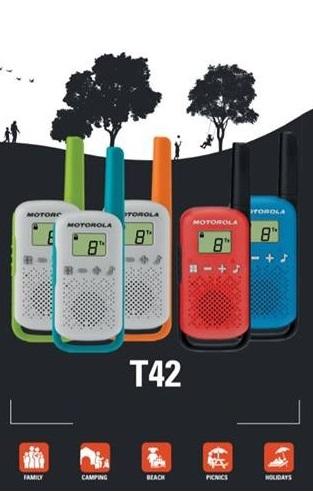 Motorola T42. Gyerkőcnek is lehet jó rádiója :)