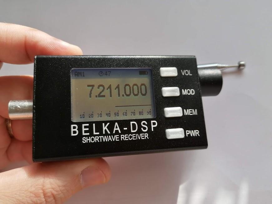 Belka-DSP gyufásdoboznyi SDR rádió