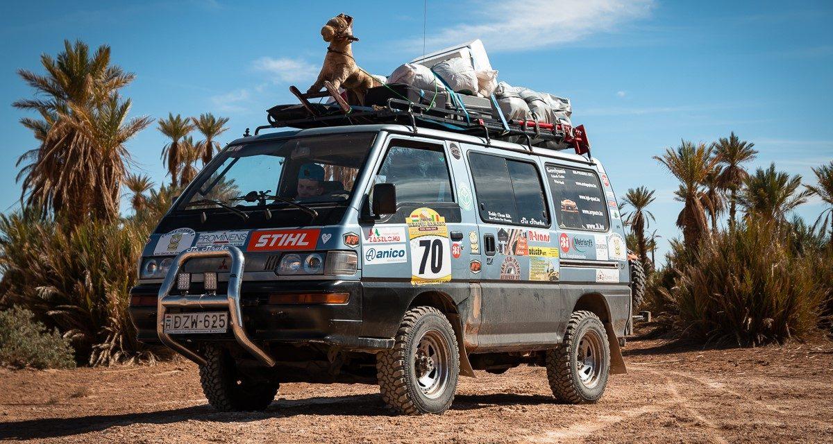 Rádiós élménybeszámoló Budapest Bamako 2020 Six Stroke 70-es csapat.